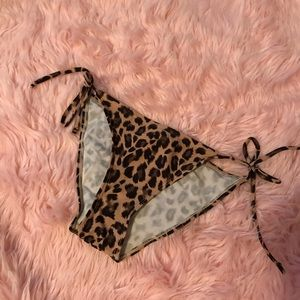 Swim - Cheetah print bathing suit bottoms!